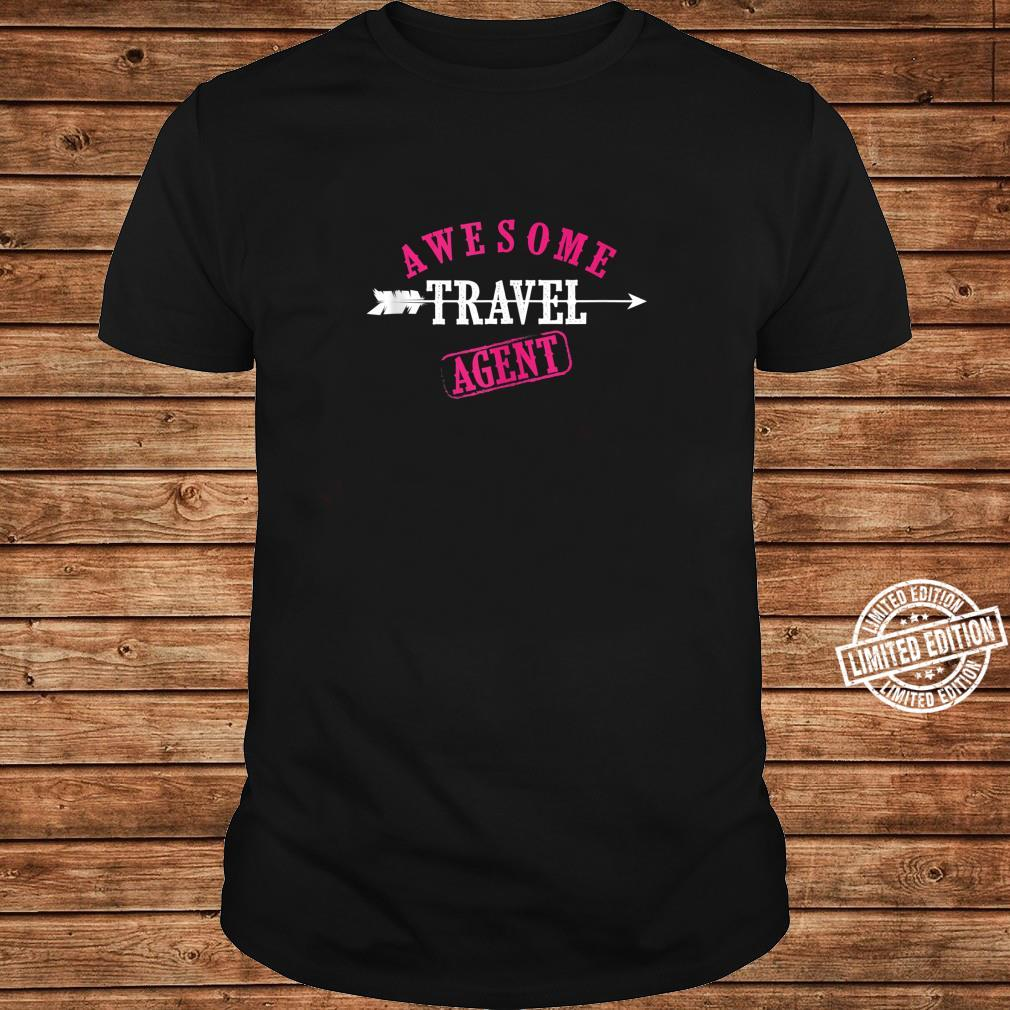 Awesome Travel Agent Cute I'm A Travel Agent Shirt long sleeved