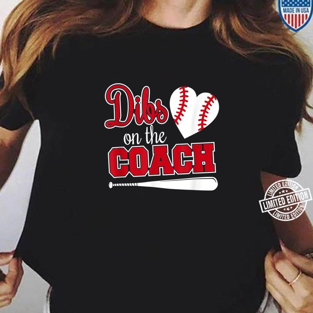 Baseballtrainer schenkt Dibs auf dem Trainer Shirt ladies tee