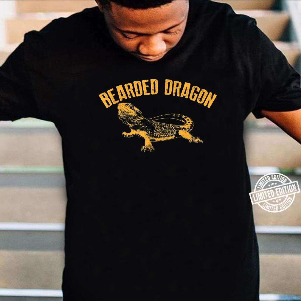 Bearded Dragon Cute Pet Beardie Fanatics Shirt