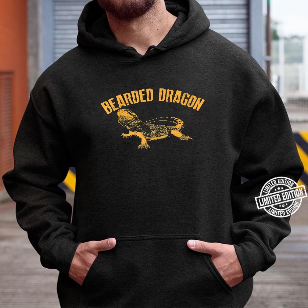Bearded Dragon Cute Pet Beardie Fanatics Shirt hoodie