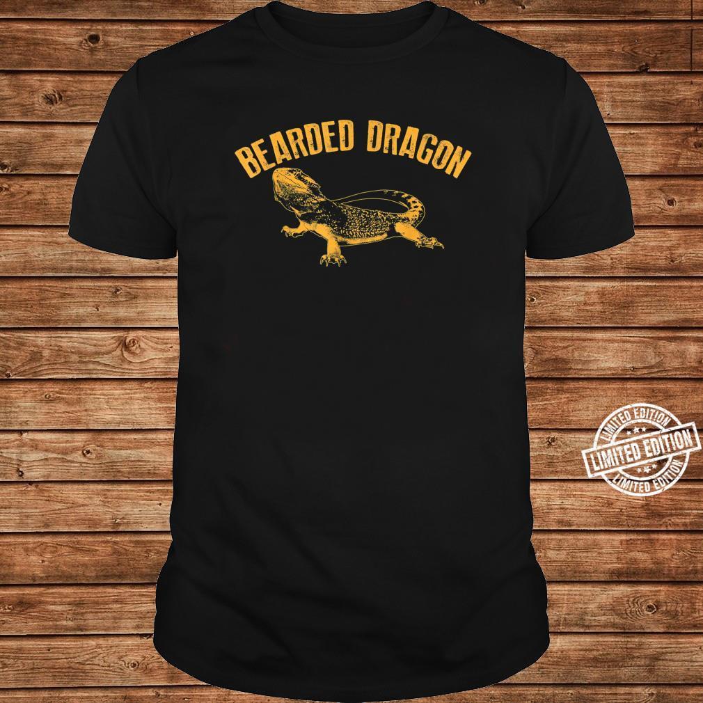 Bearded Dragon Cute Pet Beardie Fanatics Shirt long sleeved