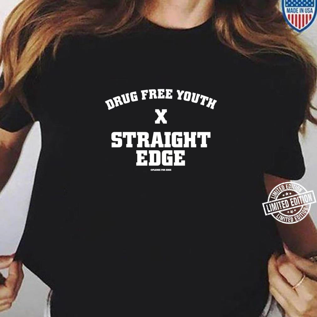 Drug Free Youth StraightEdge Langarmshirt Shirt ladies tee