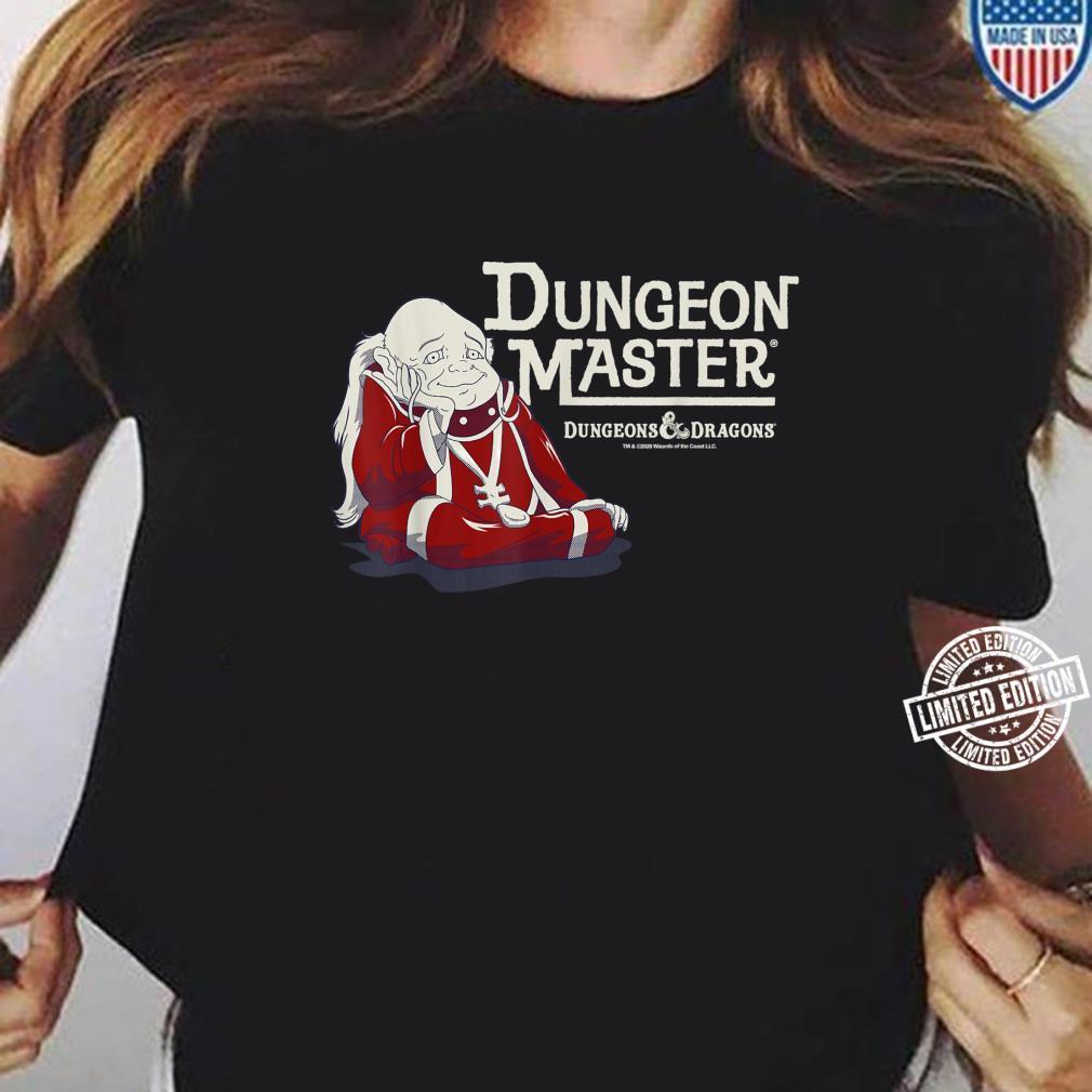 Dungeons And Dragons Dungeon Master Shirt ladies tee