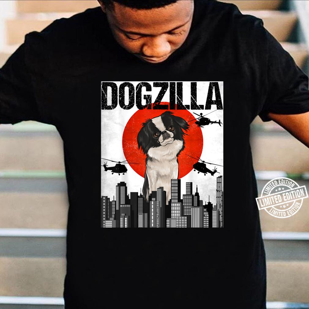Funny Vintage Japanese Dogzilla Japanese Chin Shirt