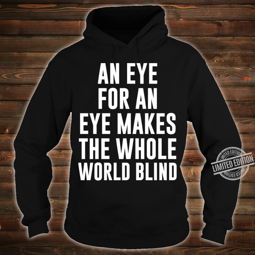 Gandhi Shirt hoodie