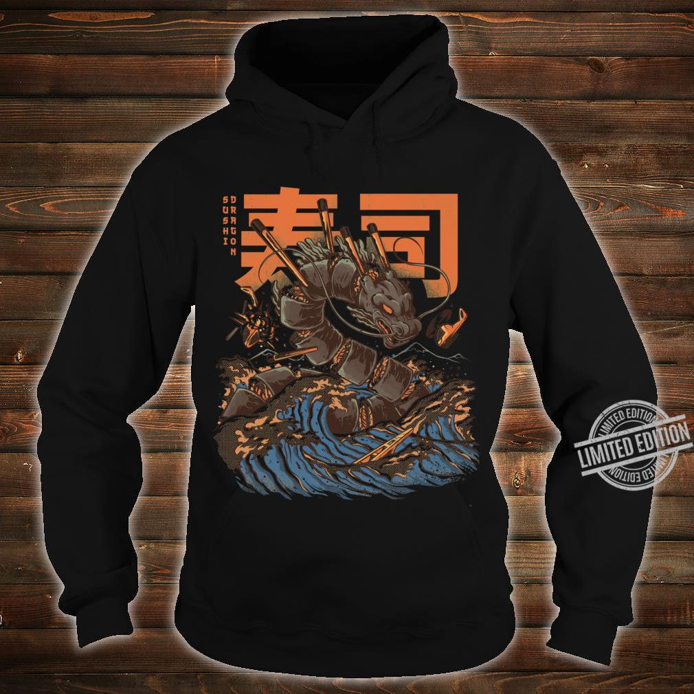 Great Sushi Dragon Fitted Scoop Shirt hoodie