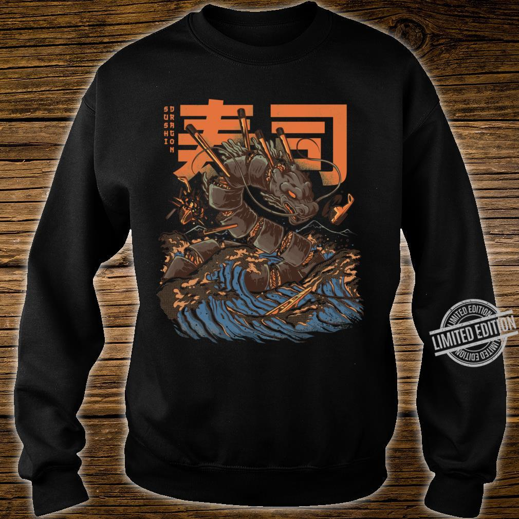Great Sushi Dragon Fitted Scoop Shirt sweater