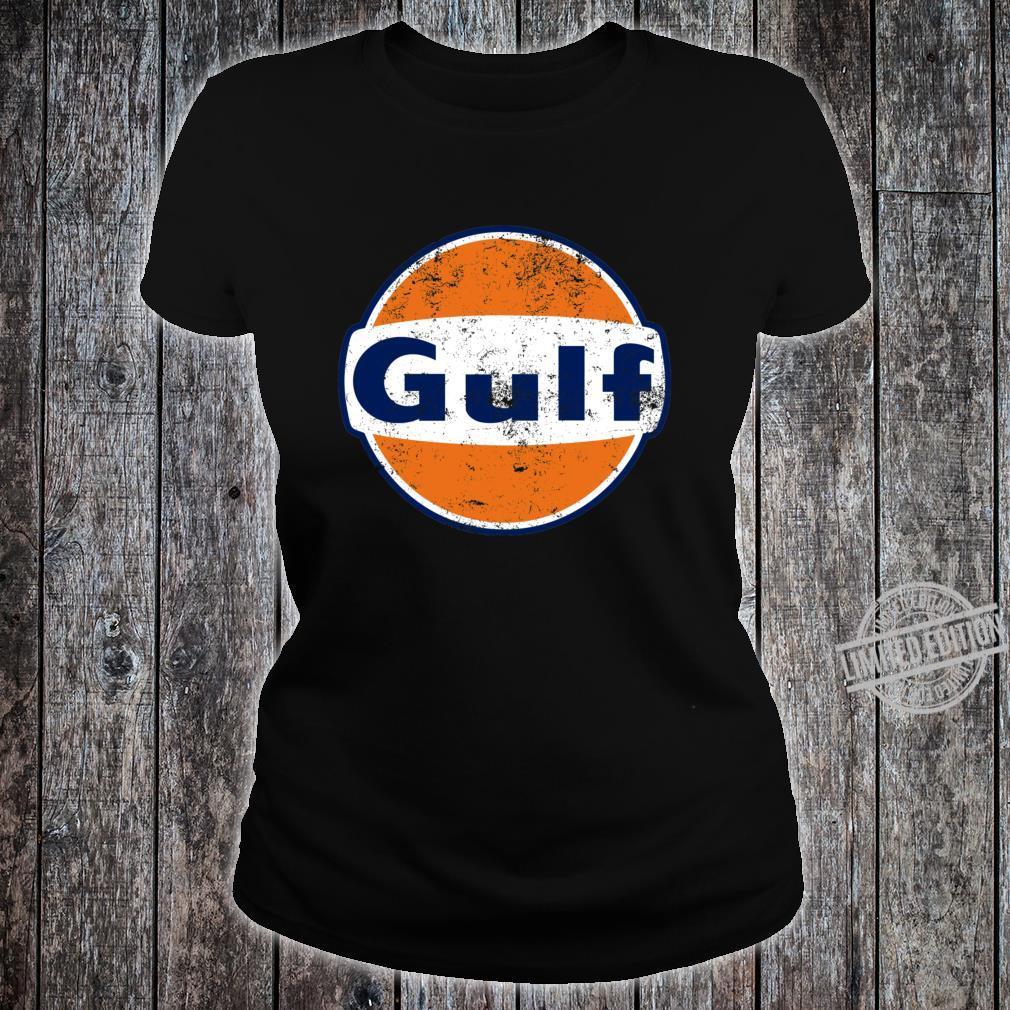 Gulf Racing Retro Shirt ladies tee