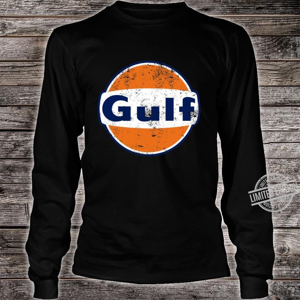 Gulf Racing Retro Shirt long sleeved