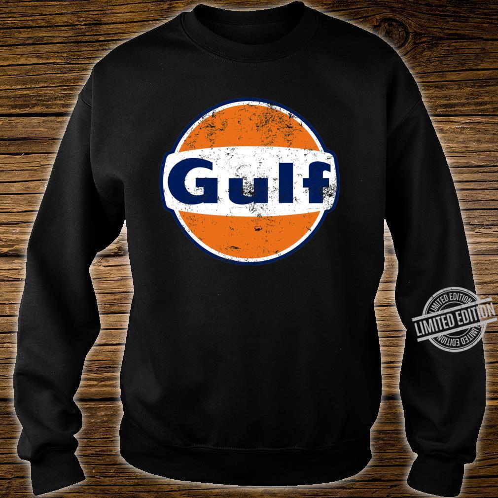 Gulf Racing Retro Shirt sweater