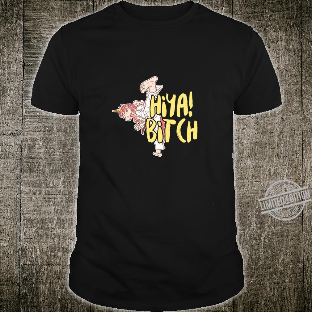 Martial Art Unicorn Taekwondo Jitsu Magical Horse Racerback Shirt