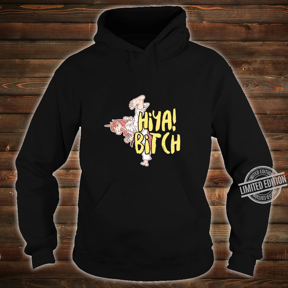 Martial Art Unicorn Taekwondo Jitsu Magical Horse Racerback Shirt hoodie