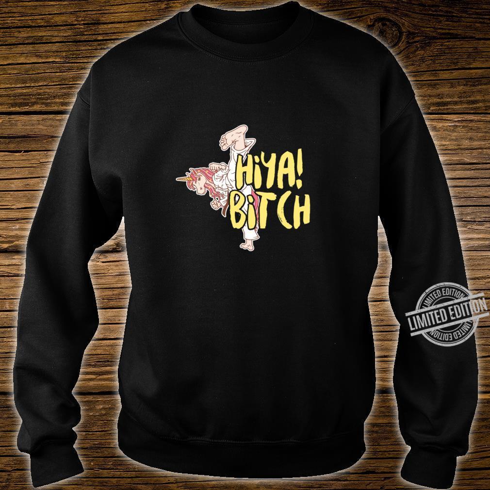 Martial Art Unicorn Taekwondo Jitsu Magical Horse Racerback Shirt sweater