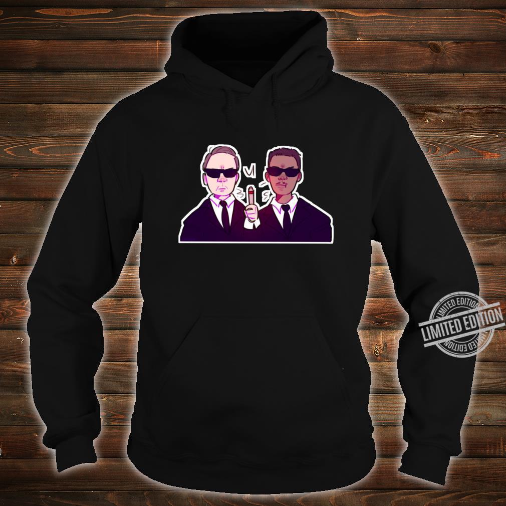 Men In Black Black, vers. 1 Shirt hoodie