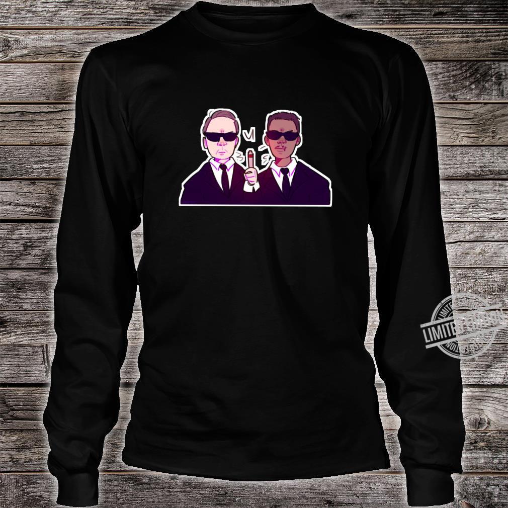 Men In Black Black, vers. 1 Shirt long sleeved