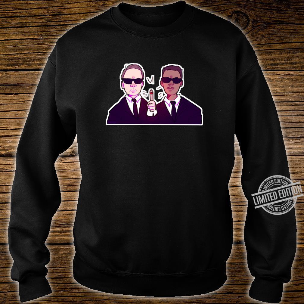 Men In Black Black, vers. 1 Shirt sweater