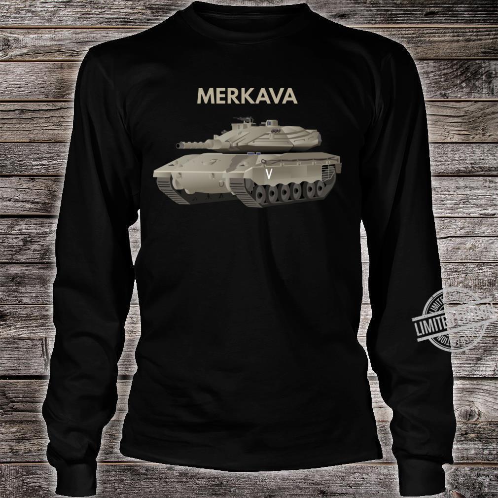 Merkava Tank Shirt long sleeved