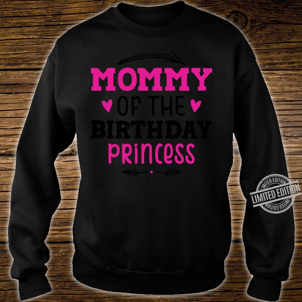 Mommy Of The Birthday Princess Unicorn Shirt sweater