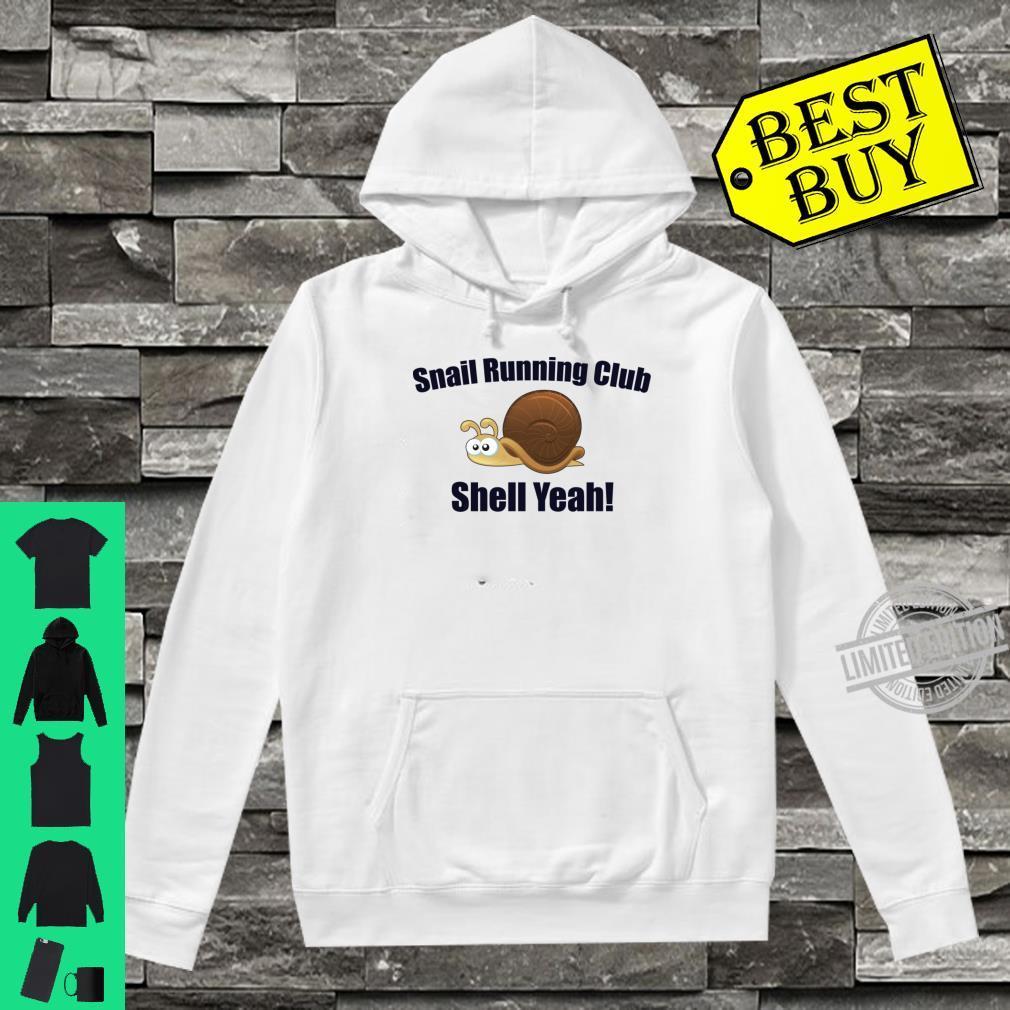 Slow Runner Shirt hoodie