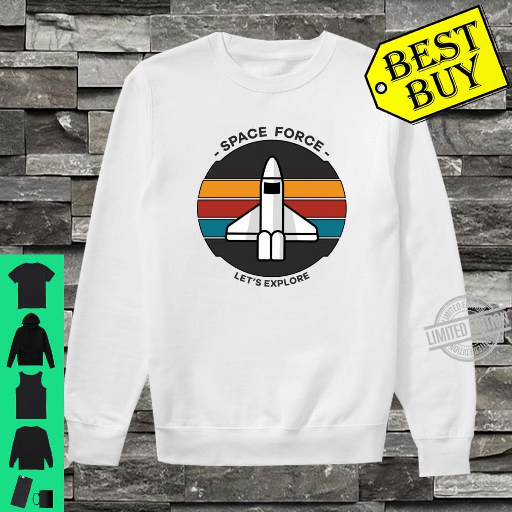 Space Force Shirt sweater
